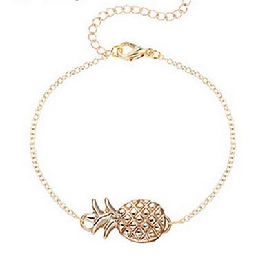 Damen Ketten- & Glieder-Armbänder - Modisch Armbänder Silber / Golden Für Alltag Normal
