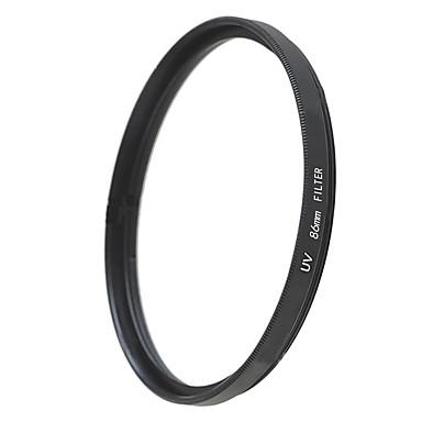 emoblitz 86mm uv ultrafiolett beskytter objektivet filter svart