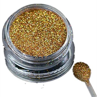 1pcs Bijoux à ongles / Glitter & Poudre / Poudre Glitters / Classique / Glitter & Sparkle Quotidien