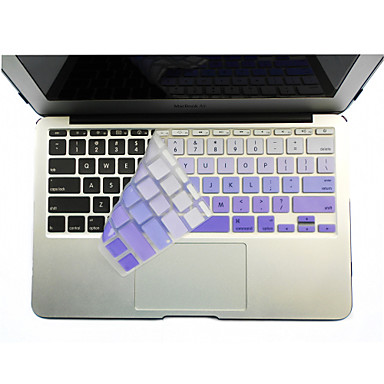 abordables Accessoires de Clavier-SoliconeKeyboard Cover For11.6 '' / 13.3 '' / 15.4 '' Macbook Pro avec Retina / MacBook Pro / Macbook Air avec Retina / MacBook Air