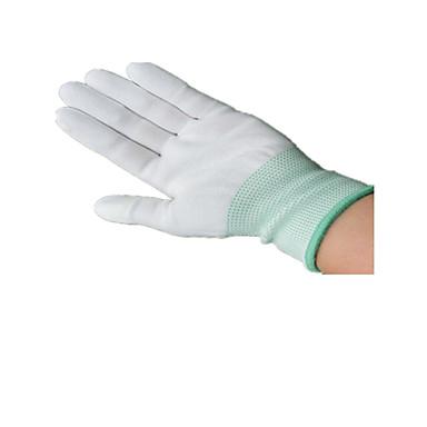 肥厚の暗号化PUコーティングされた手袋帯電防止PUナイロン手袋クリーン