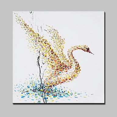 peintures à l'huile abstraite de toile moderne art mural image peinte à la main avec cadre étiré prêt à accrocher