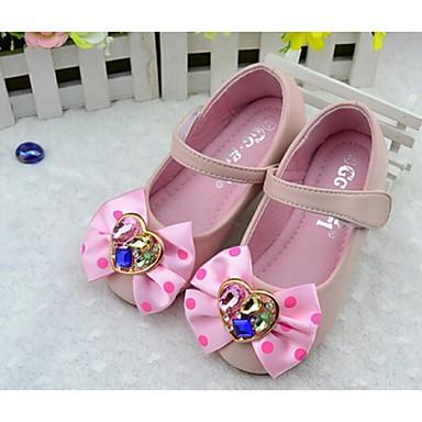 (Svart / Rosa / Hvit)Komfort-Flate sko-PU-GIRL