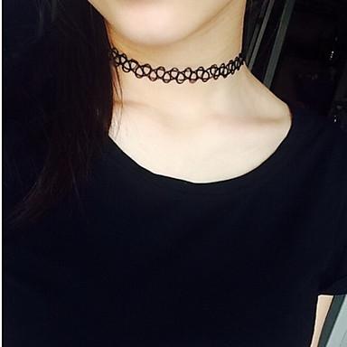 Damen Gestalten Sexy Modisch Halsketten Spitze Aleación Halsketten Alltag Normal