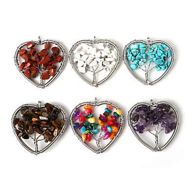 Anheng Stein Heart Shape som bilde 1Pc