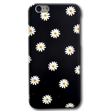 Capinha Para Apple iPhone 8 / iPhone 8 Plus / iPhone 6 Plus Estampada Capa traseira Flor Rígida PC para iPhone 8 Plus / iPhone 8 / iPhone 6s Plus