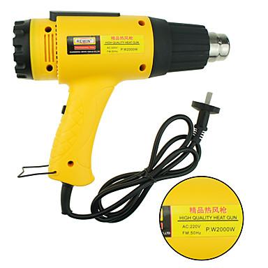 rewin® verktøy høy kvalitet varme handarm utgangseffekt 2000W