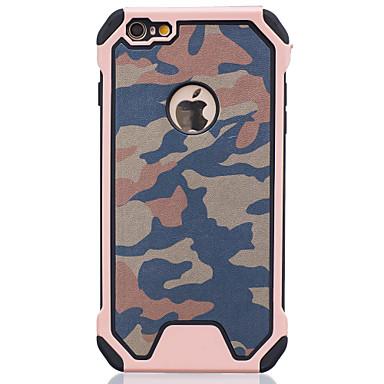 ל מגן אייפון6 / מגן אייפון6פלוס עמיד בזעזועים מגן כיסוי אחורי מגן צבע הסוואה קשיח PC AppleiPhone 6s Plus/6 Plus / iPhone 6s/6 / iPhone