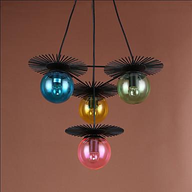 Plafond Lichten & hangers ,  Traditioneel / Klassiek Galvanisch verzilveren Kenmerk for Ministijl MetaalWoonkamer Slaapkamer Eetkamer