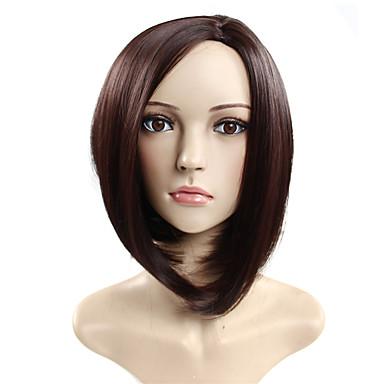 פאה סינטתית שיער משי אופנה קצר שיער באיכות גבוהה