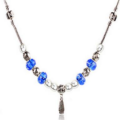 נשים שרשראות גדילים סגסוגת אופנתי מקסים תכשיטים עבור יומי קזו'אל