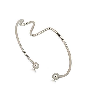 בגדי ריקוד נשים צמידים צמידי חפתים וינטאג' אהבה סגסוגת תכשיטים יומי קזו'אל תכשיטי תלבושות