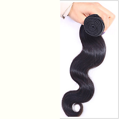 Intialainen Hiukset kutoo Runsaat laineet Hiuspidennykset 1 Kappale Luonnollinen väri