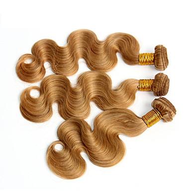 Włosy peruwiańskie Body wave Ludzkie włosy wyplata 3 elementy 0.4