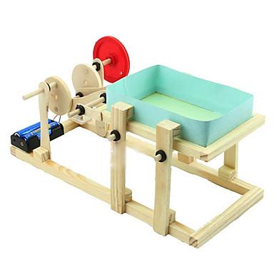 Modelbyggesæt Pædagogisk legetøj Grammofonafspiller Maskine Professionelt niveau GDS Elektrisk Træ Drenge Pige Legetøj Gave 1 pcs