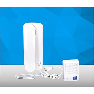 Haushalt Telefonkabel Talkback- nicht visuelle Intercom-Türklingel AC-DC-elektrischen Steuerschloss