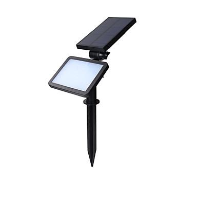 hhr® 5W 48led 960lm sensor de recarregável luz solar ao ar livre holofote branco fresco fácil instalação solar portátil