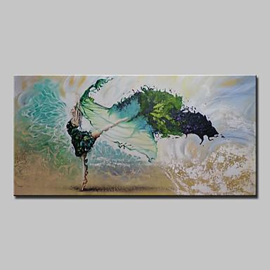 Pintura a Óleo Pintados à mão - Paisagem Modern Tela de pintura
