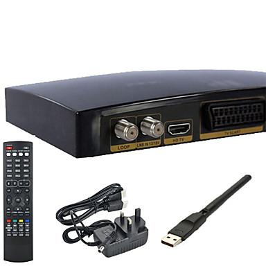 ağ kartı ile V8S openbox tam HD1080p freesat pvr tv uydu alıcı kutusu wifi