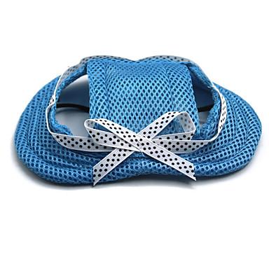 Chat Chien Bandanas & Chapeaux Vêtements pour Chien Mode Couleur Pleine Nœud papillon Orange Bleu de minuit Rouge Bleu Rose Costume Pour
