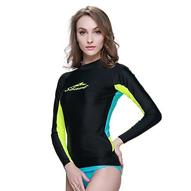 SBART® Femme Anti Irritation Costumes humides Combinaison de plongée Résistant aux ultraviolets Compression Tactel Tenue de plongée