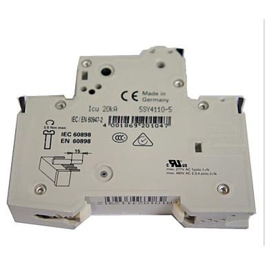 disjuntores auxiliares originais circuito interruptor em miniatura 5st3010-0cc