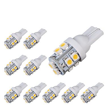 10pcs T10 Coche Bombillas 1.6W SMD 5050 150lm 10 Luz de Intermitente For Universal