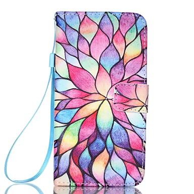 Hülle Für LG K8 LG LG K4 LG K10 LG K7 LG G5 Kreditkartenfächer Geldbeutel mit Halterung Ganzkörper-Gehäuse Andere Hart PU-Leder für