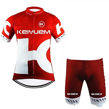 Manga Curta Camisa com Shorts para Ciclismo Formais Moto Shorts Camisa/Roupas Para Esporte Conjuntos de Roupas, Prova-de-Água, Secagem
