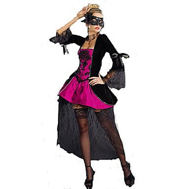 Cosplay Kostumer Dronning Eventyr Film-Cosplay Kjole Maske Halloween Jul Nytt År Kvinnelig
