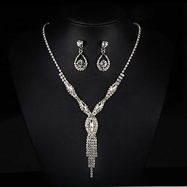 Damen Schmuck-Set - Modisch Einschließen Halskette / Ohrringe / Braut-Schmuck-Sets Silber Für Hochzeit / Party
