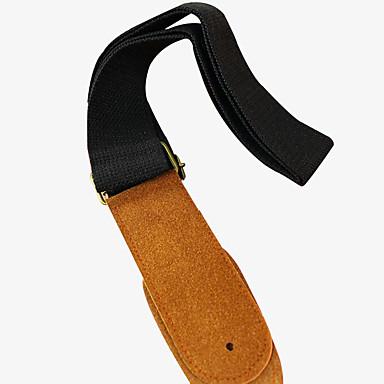primeira camada de correia da guitarra de couro avançado violão folk correia da guitarra cinta de fábrica preço de venda direta elétrica