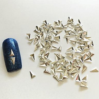 100 Nail Smykker metallic Klassisk Høy kvalitet Daglig Nail Art Design