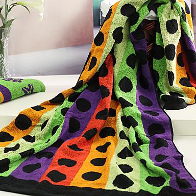 Frischer Stil Badehandtuch,gefärbter Garn Gehobene Qualität 100% Baumwolle Handtuch
