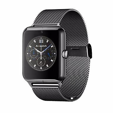 Herren / Damen Smart Uhr digital Touchscreen / Fernbedienung / Kalender / Alarm / Schrittzähler / Fitness Tracker / Stopuhr Edelstahl Band