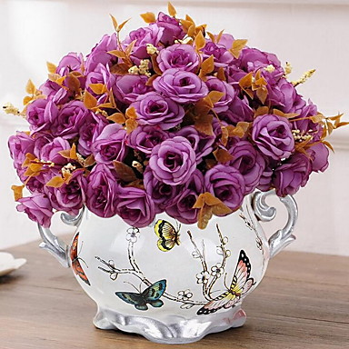 16.0 Afdeling Andre Sakura Bordblomst Kunstige blomster