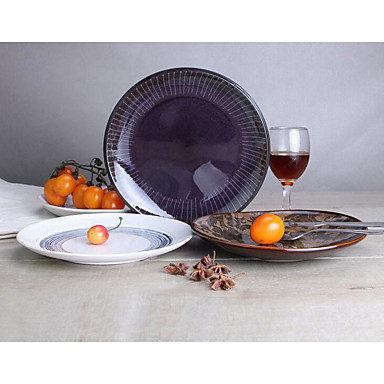 Keramik Middags Tallerkener porcelæn - Høj kvalitet