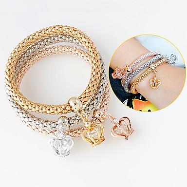 Dames Bedelarmbanden - Modieus Armbanden Goud / Zilver Voor