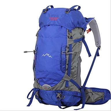 56-75L L Pacotes de Mochilas Mochilas de Escalada mochila Alpinismo Acampar e Caminhar ViajarInsulação de Calor Prova-de-Água Á