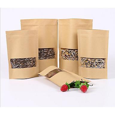 auto-suficiência frutos secos chá lanche composto saco de papel kraft