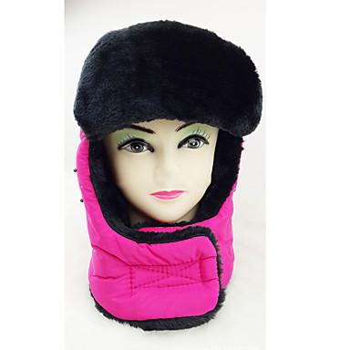 Chapkamuts Bontmuts Ski Hoed Face Mask Heren Dames waterdicht Houd Warm Snowboard Katoen Klassiek Wintersporten Winter