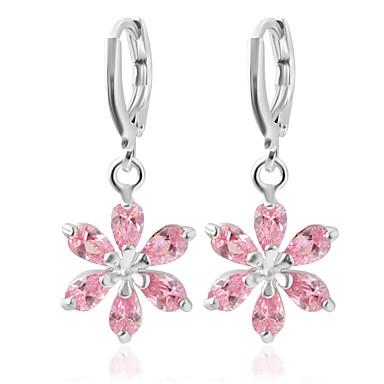 Modieus Legering Bloemvorm Roze Sieraden Voor Bruiloft Feest Dagelijks Causaal 1 paar