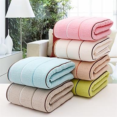 1 stk fuld bomuld fortykkelse badehåndklæde 55