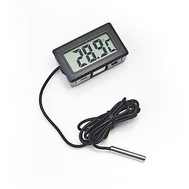 OTHER N/A Termometre Automatisk LCD Display Batteri Plastik
