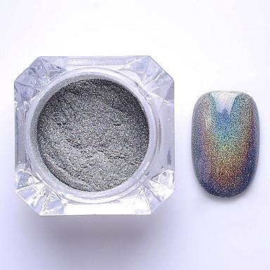 1pcs Glitter & Poudre Pudder Glitters Klassisk Høy kvalitet Daglig Nail Art Design
