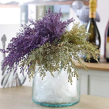 Flores artificiais 1 Ramo Estilo Moderno Plantas Flor de Mesa