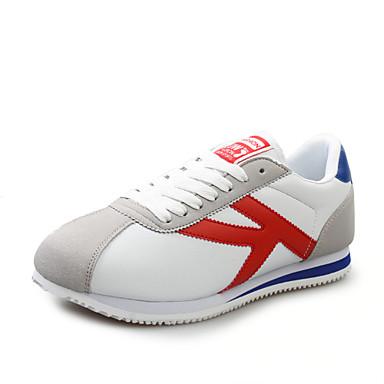 Sneakers-PUDame-Rød Grå Bronce Marineblå-Sport-Flad hæl