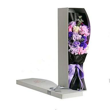 Valentinsdag gave gave bouquet materialer engros r rose blomst Sæbeskuffe