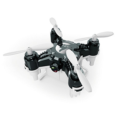Drón FQ777 124C 4CH 6 Tengelyes 720P HD kamerával Egygombos Visszaállítás Headless Mode 360 Fokos Forgás Kamerával RC Quadcopter