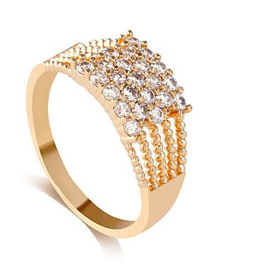 Ringe Stil Hochzeit Schmuck Aleación Damen Mittelfingerring 1 Stück,8 / 9 / 8½ / 9½ Goldfarben / Silber
